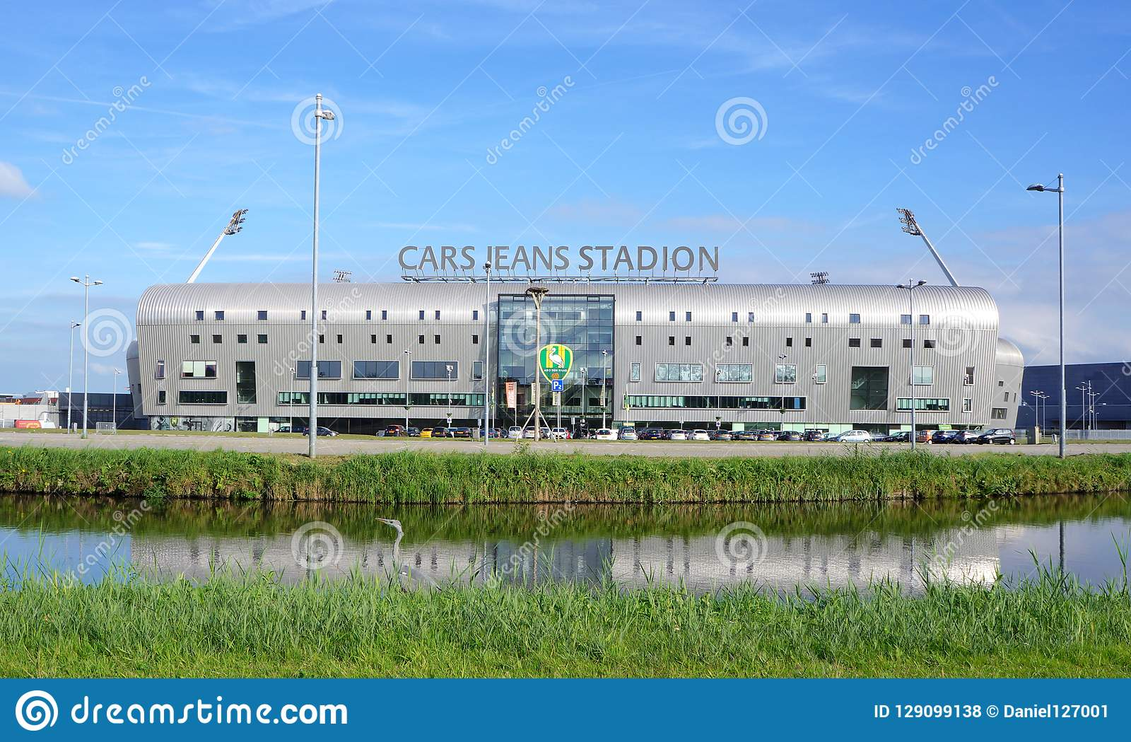 Cars Jeans Stadion Stadium Editorial Stock Photo Image Of Building 129099138