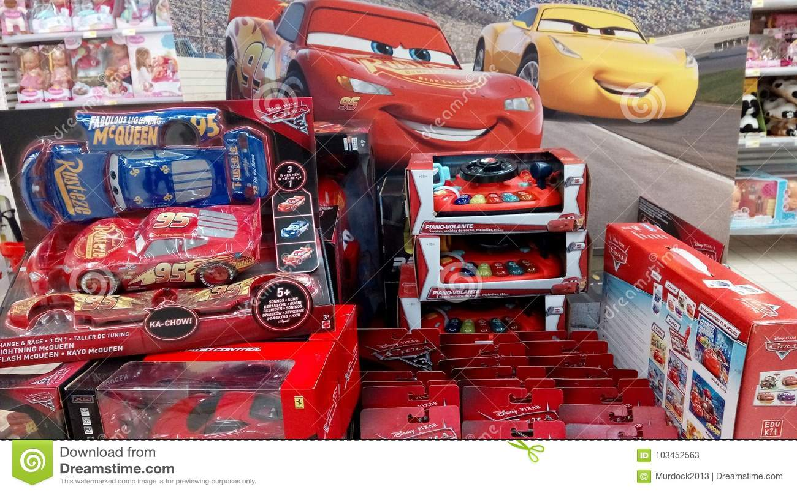 Movie Cars For Sale >> Cars Pixar Movie Toys Editorial Stock Photo Image Of Pixar