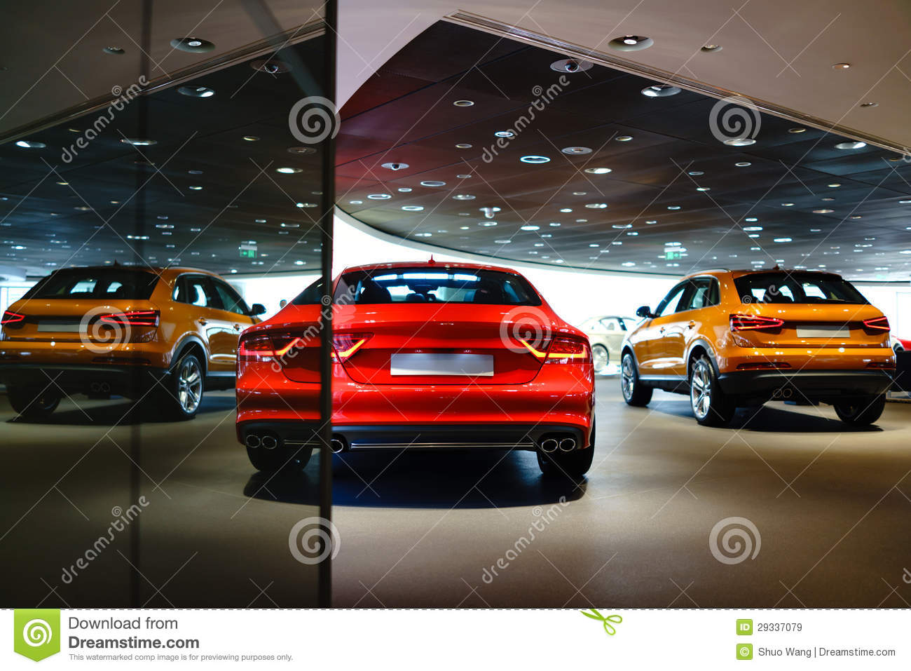 Expensive Car For Sale Or Gift Royalty Free Stock Image: Cars For Sale Royalty Free Stock Images
