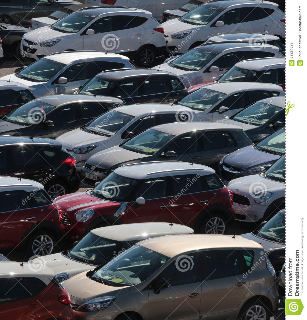Cars 061 Vertical Editorial Stock Photo - Image: 68324688