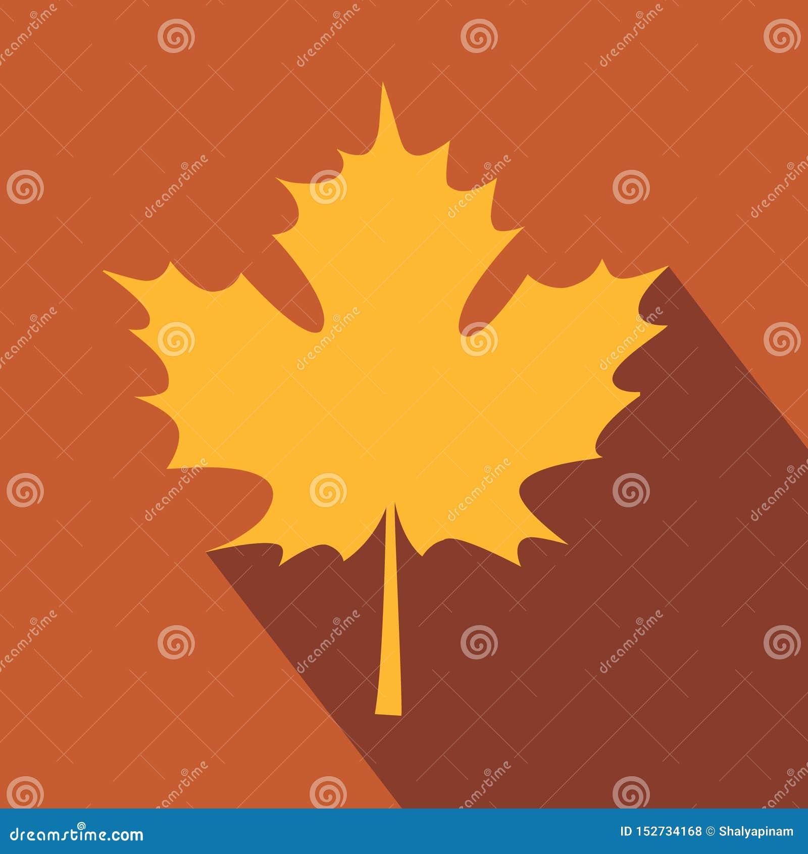 Cartão bonito com Autumn Maple Leaf