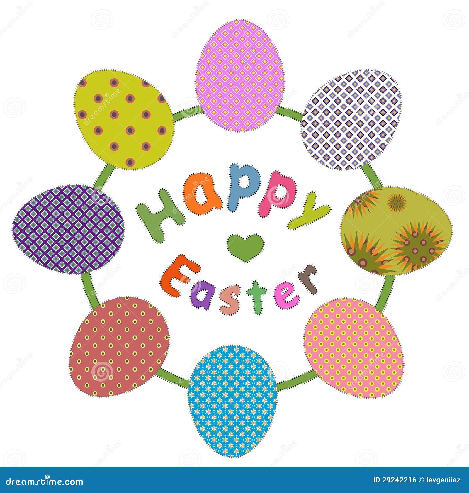 Download Cartão de Easter ilustração stock. Ilustração de cumprimento - 29242216