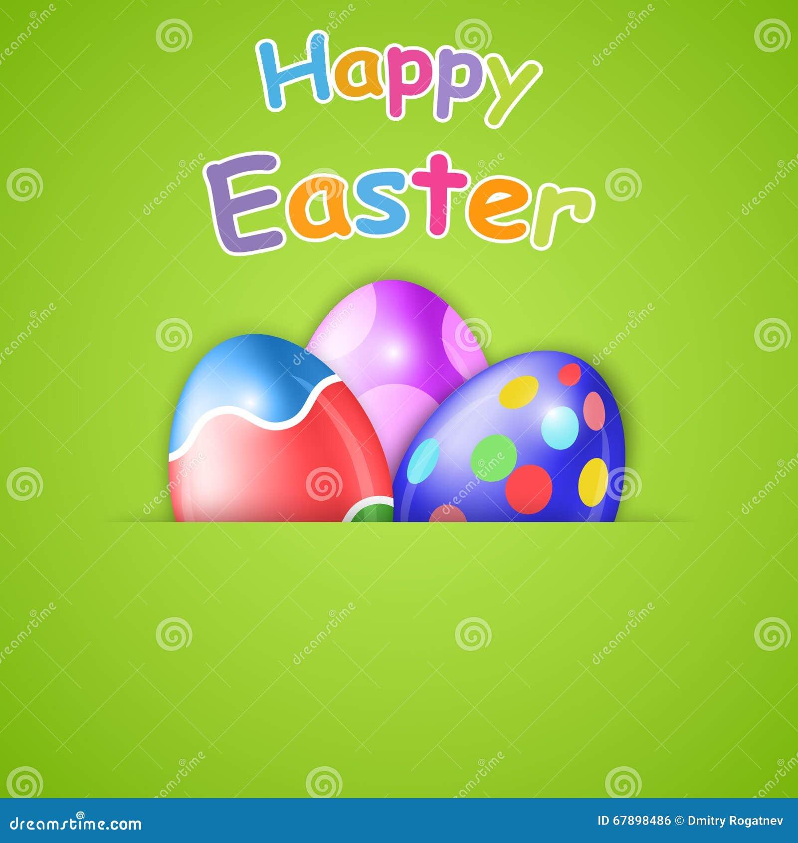 Cartão de easter feliz com ovo