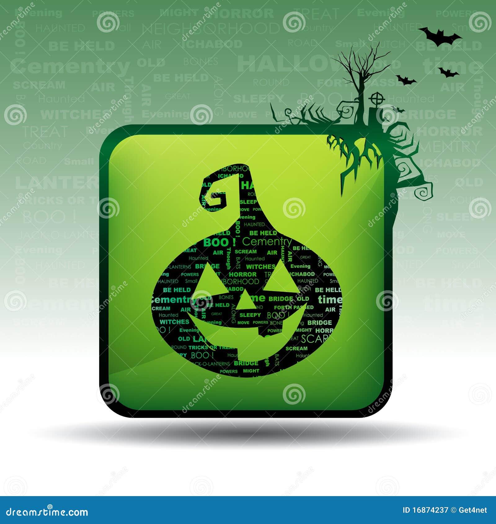 Cartão de Halloween