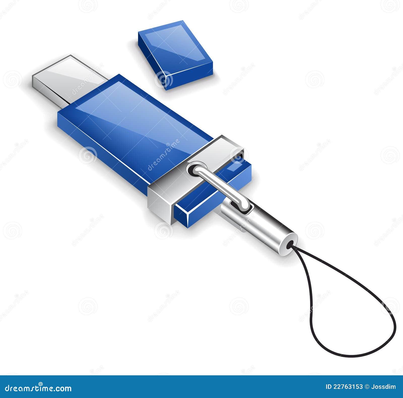 Cartão de memória do USB