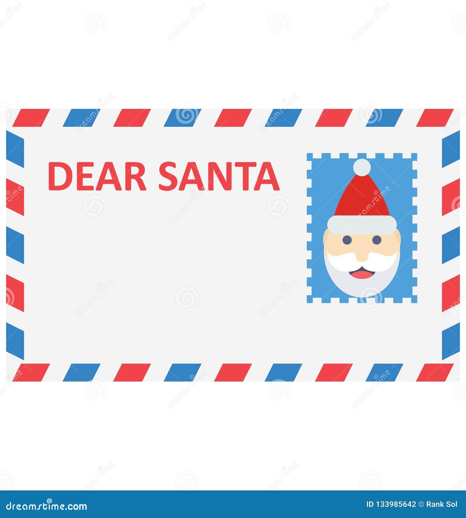 Cartão de Natal, ícone do vetor do cumprimento do Natal que pode facilmente ser alterado ou editado