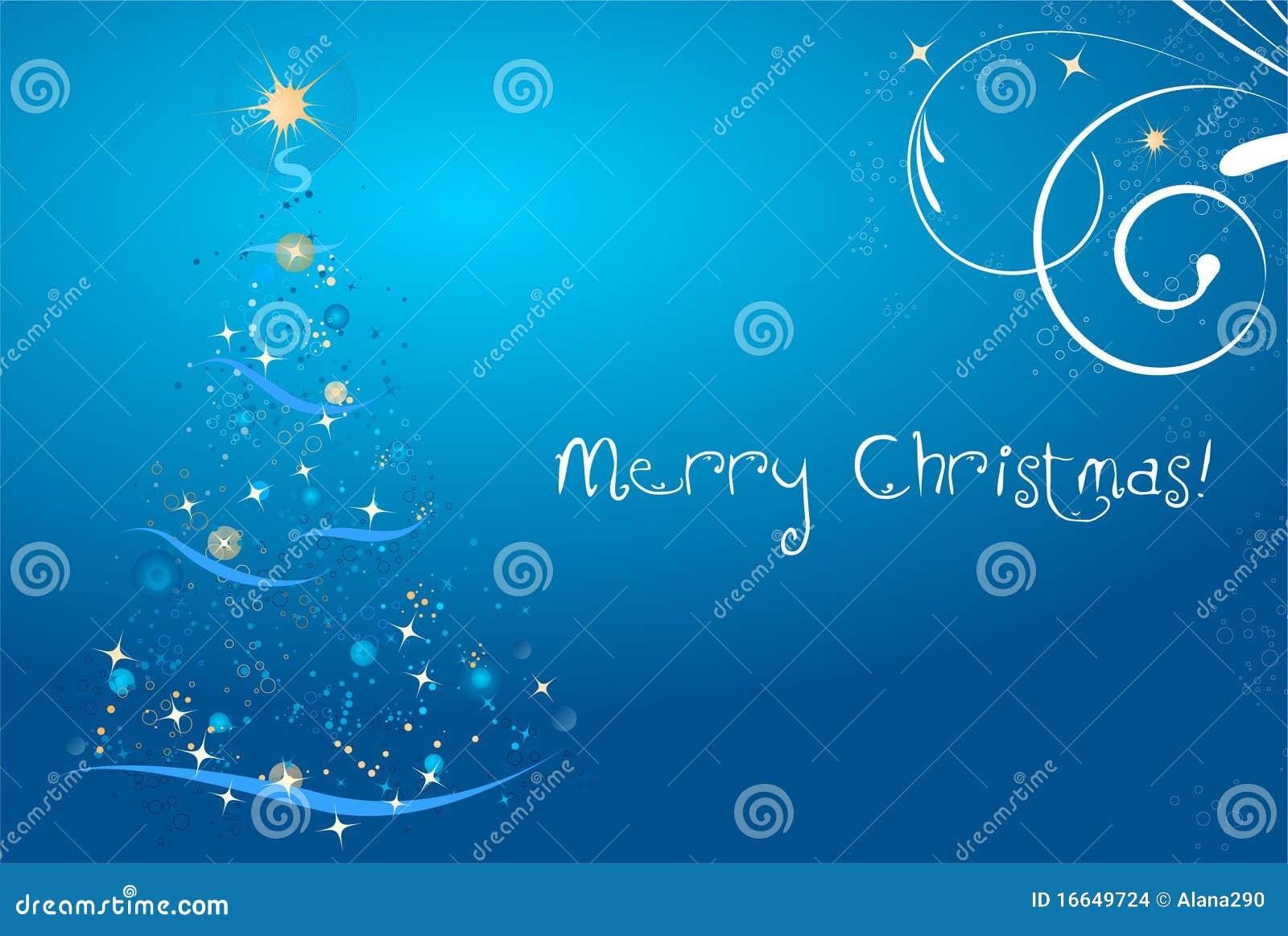 Cartão de Natal abstrato
