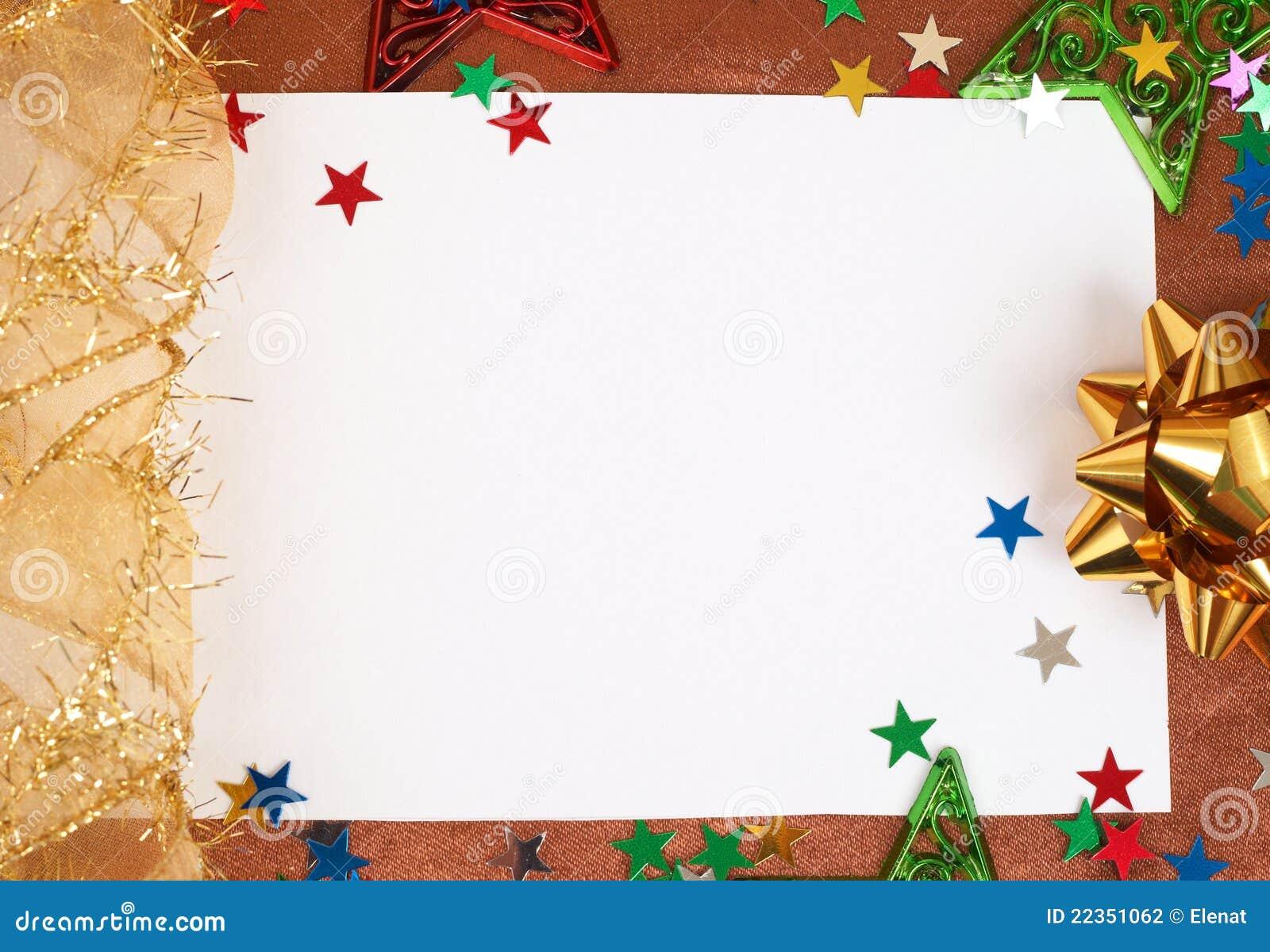 download carto de natal branco com decoraes foto de stock imagem de colorido decor