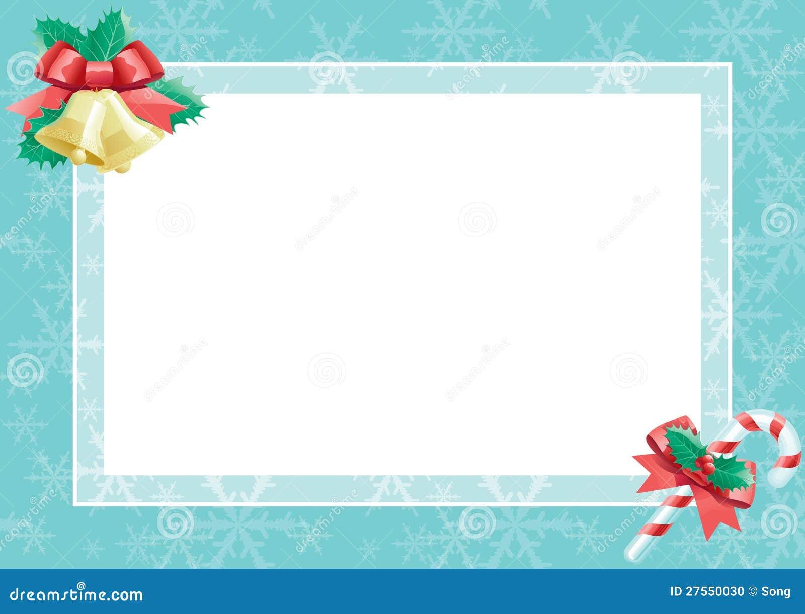 Cart 227 O De Natal Com Espa 231 O Em Branco Vazio Para O Texto