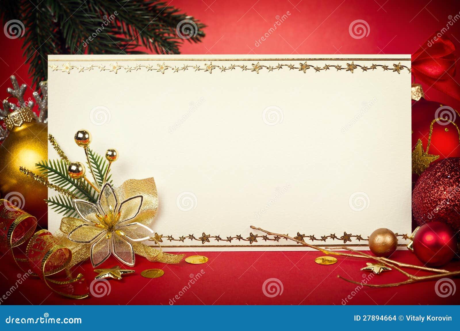 Cartão De Natal A Personalizar Foto De Stock Imagem De Estrelas