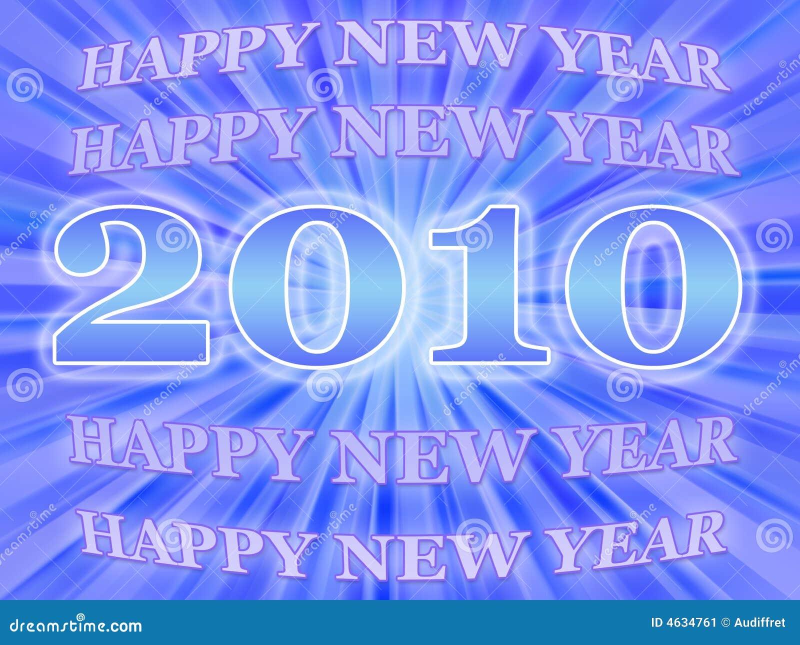 Cartão do ano novo