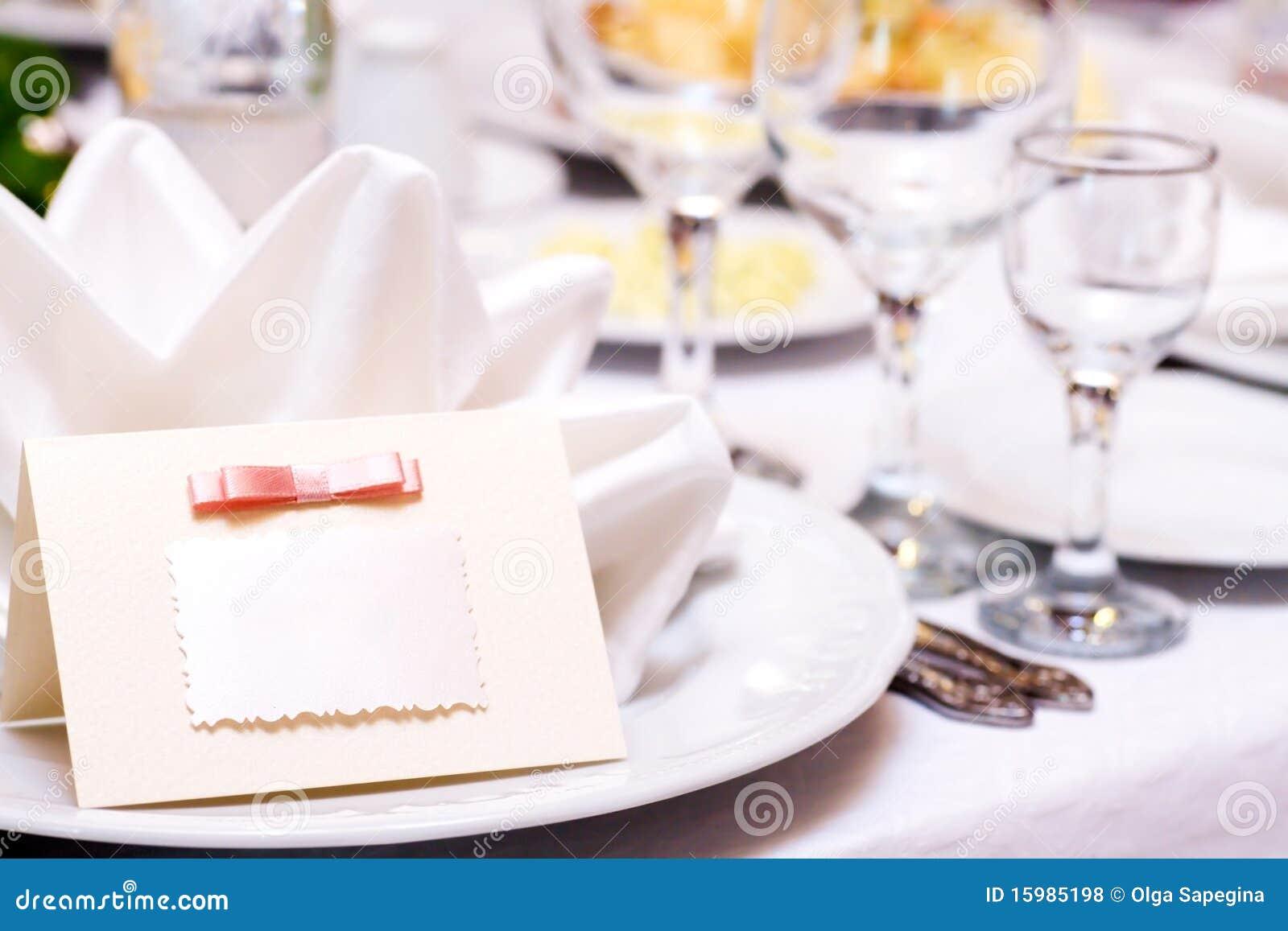 Cartão do convidado