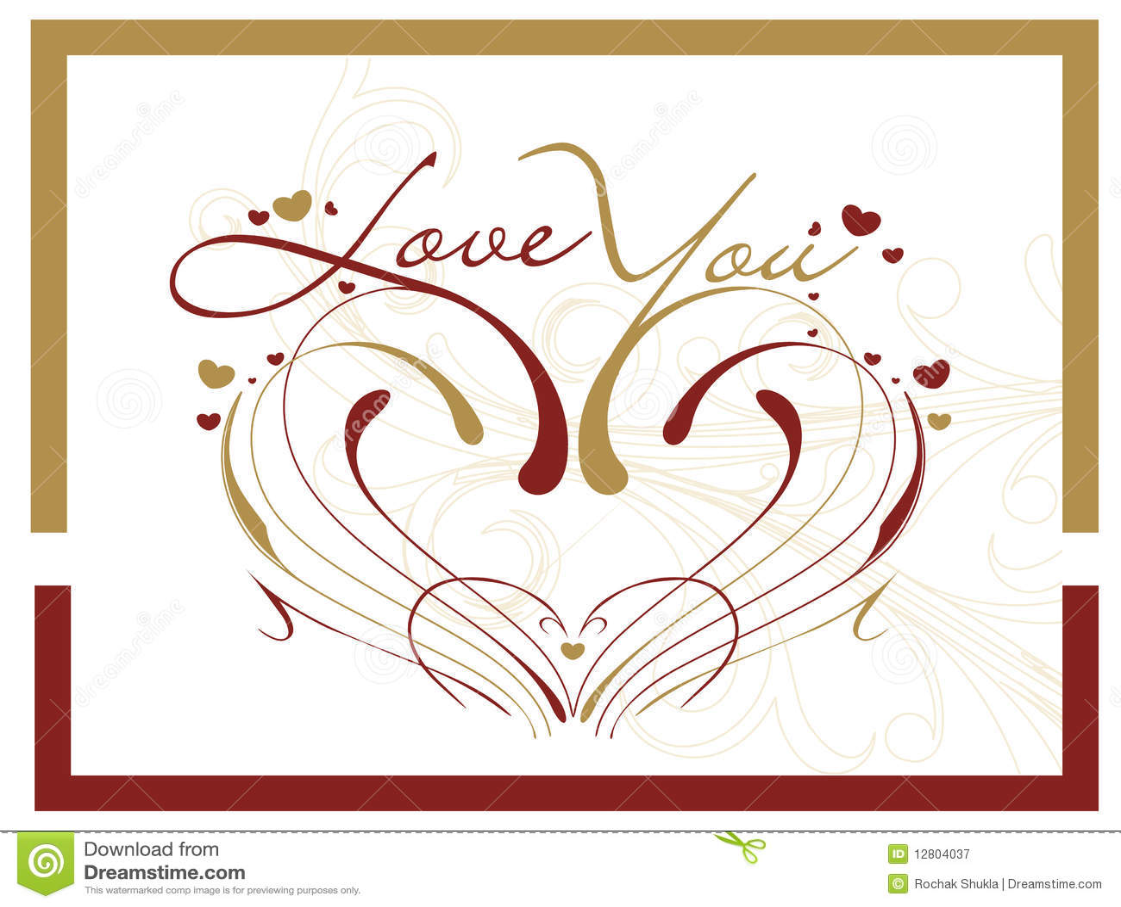 Cartão do dia do Valentim