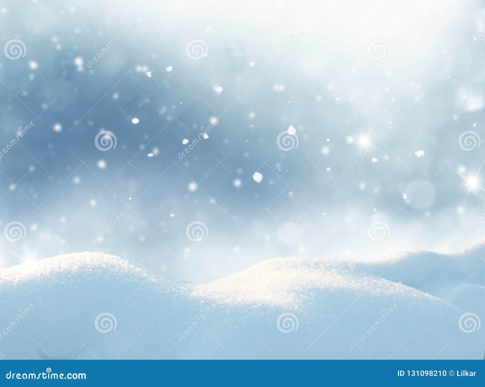 Cartão do Feliz Natal e do ano novo feliz Landsca do inverno