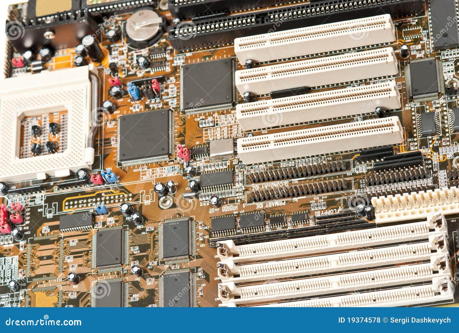 Cartão-matriz do computador