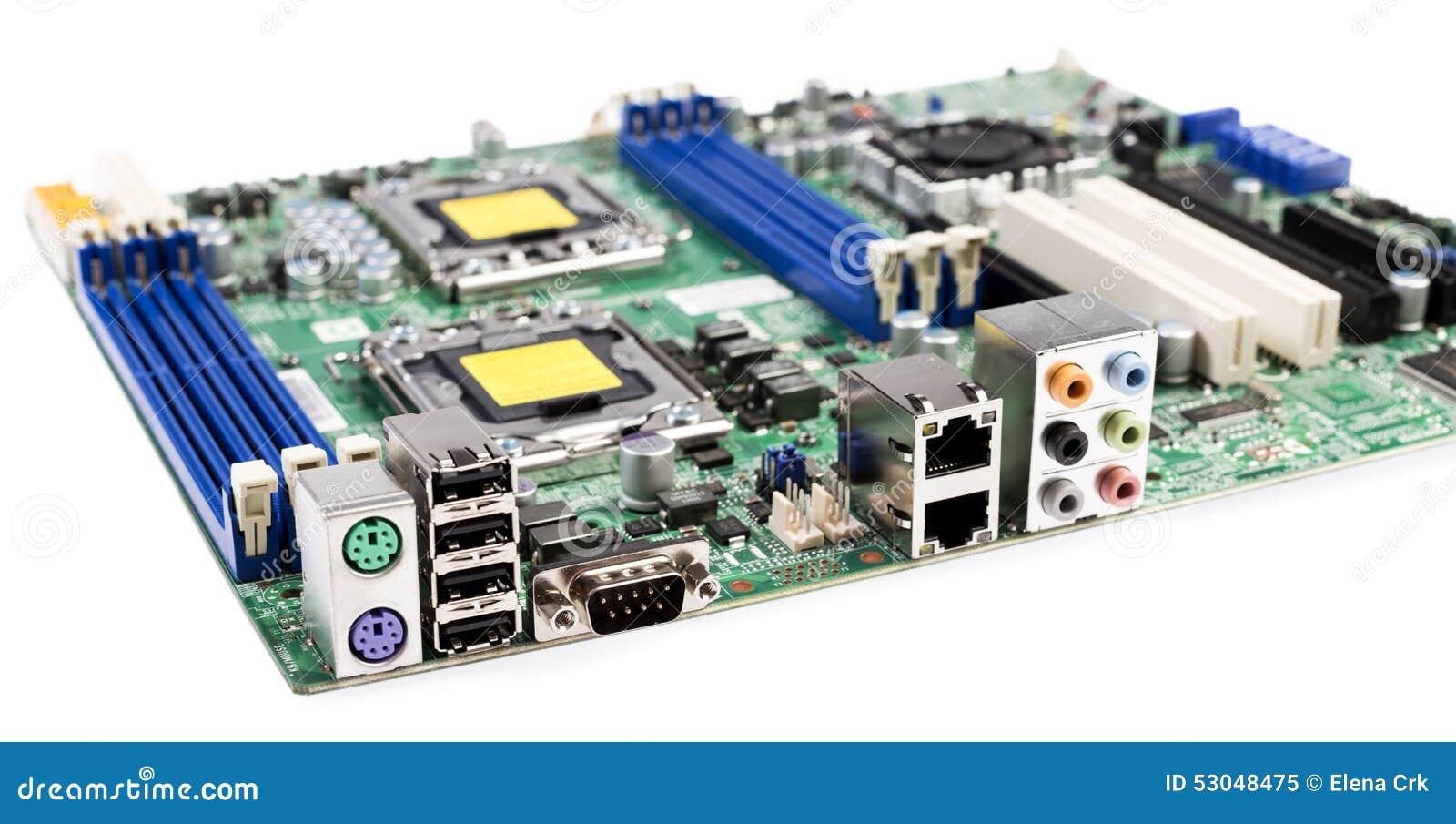 Cartão-matriz do servidor