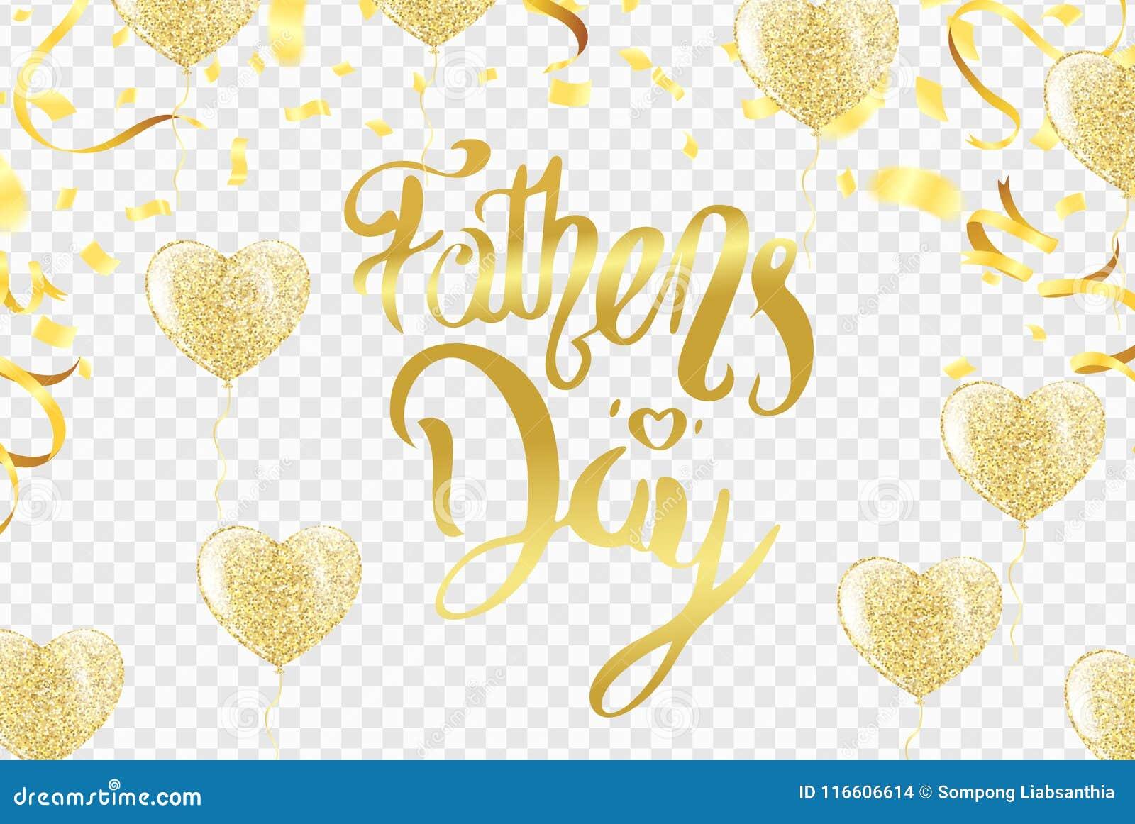 Cartão ou fundo do dia de pais Ilustração do vetor