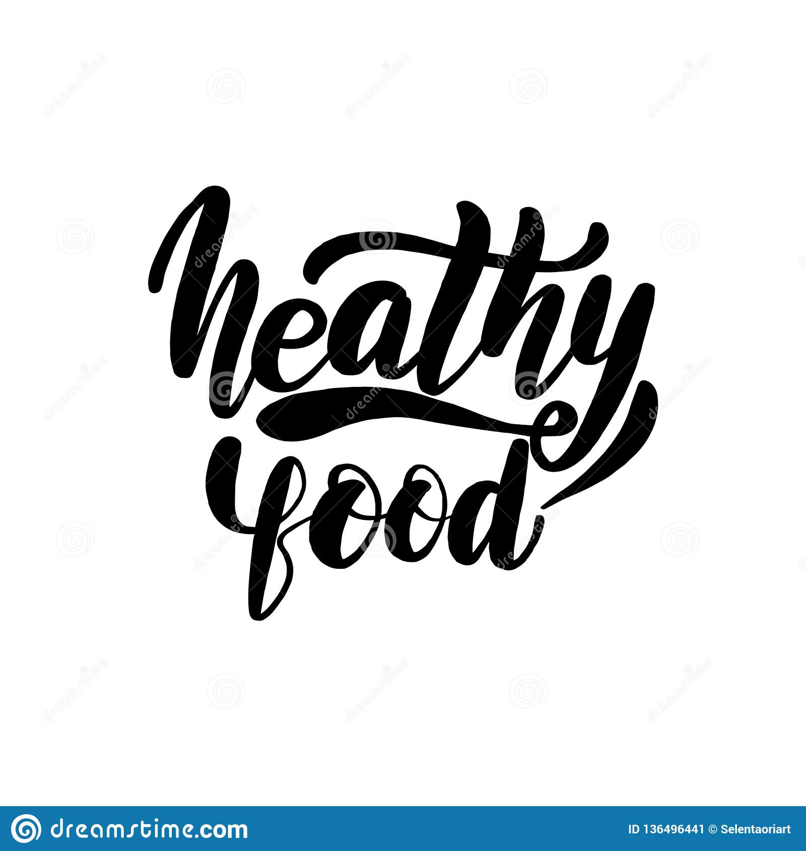 Cartão saudável da rotulação do alimento