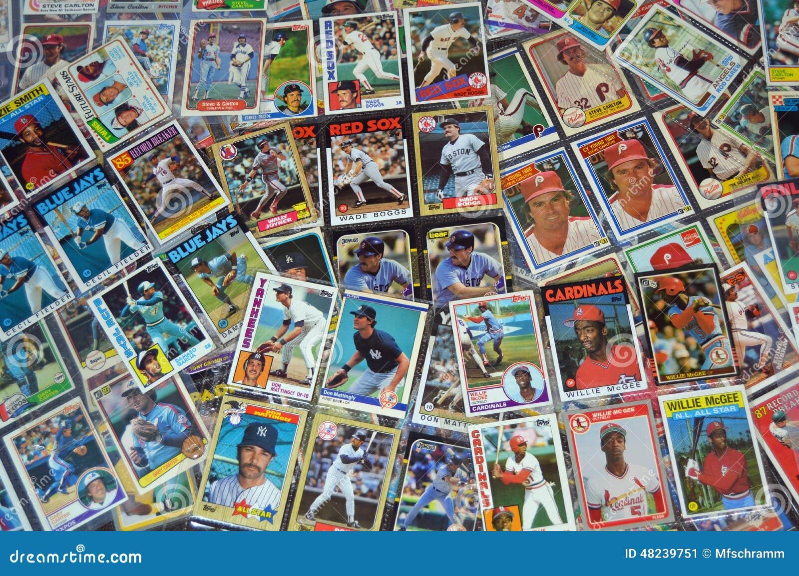 Cartões de basebol