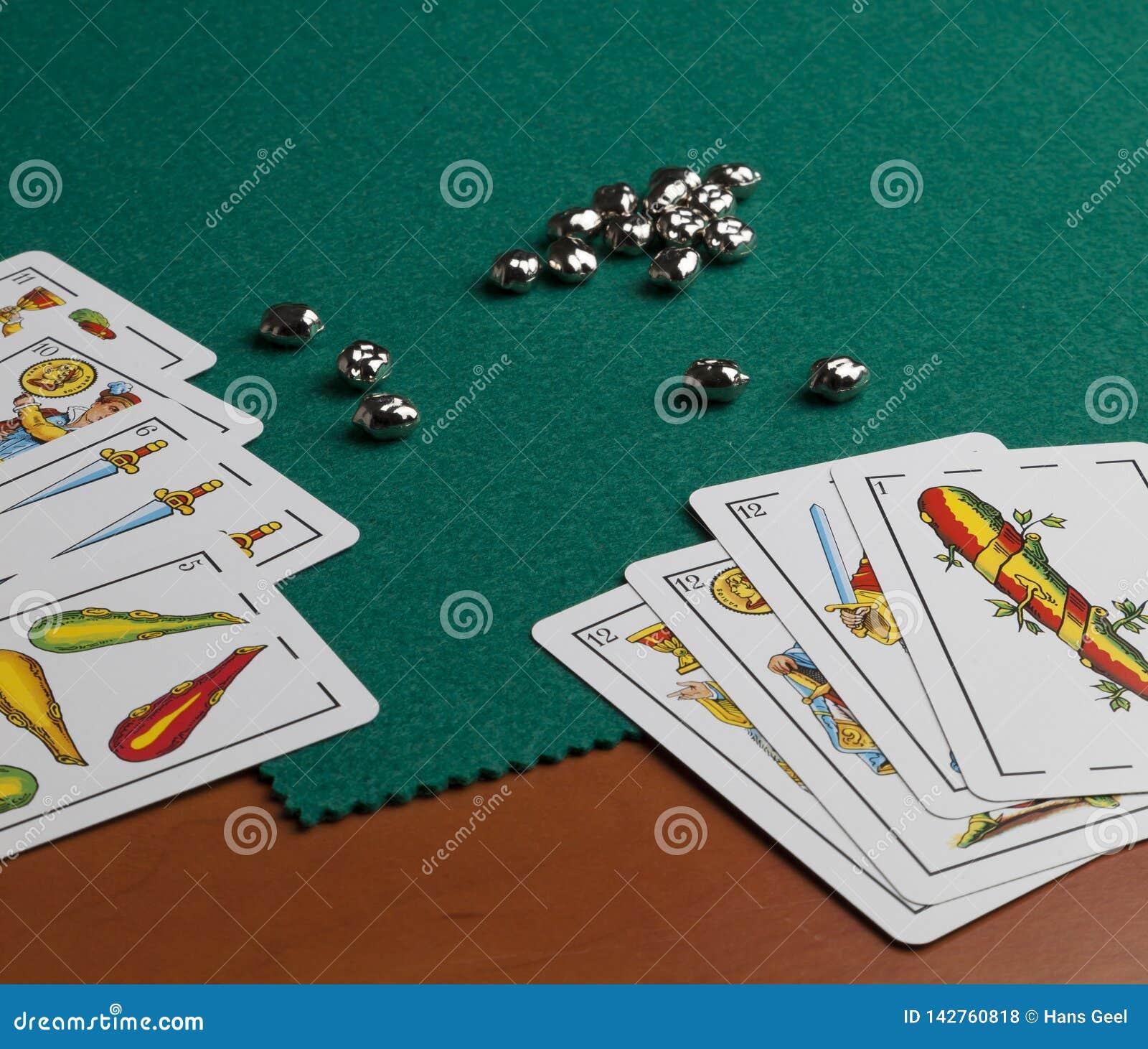 Cartões de jogo espanhóis