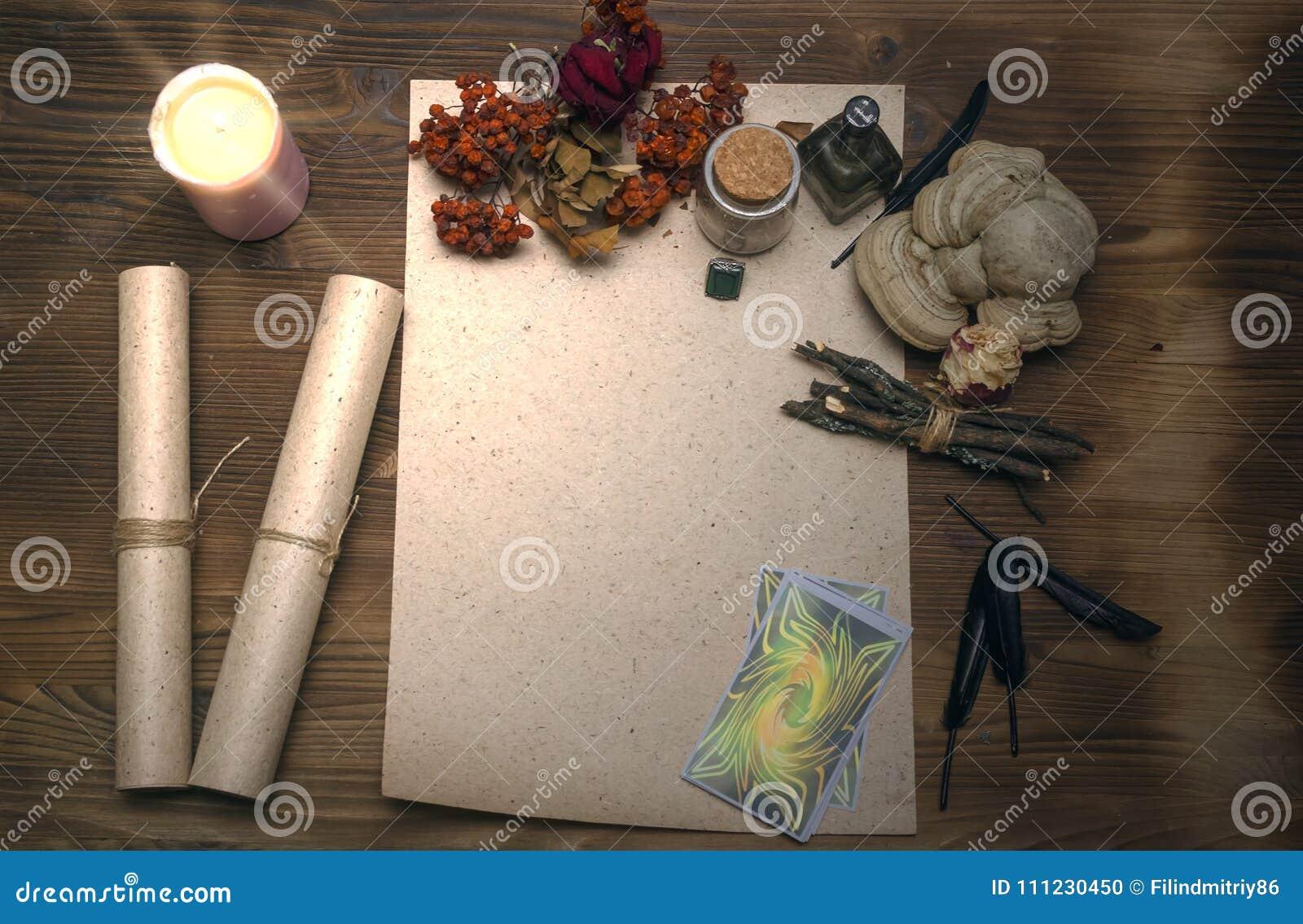 Cartões de Tarot Caixa de fortuna divination Doutor de bruxa