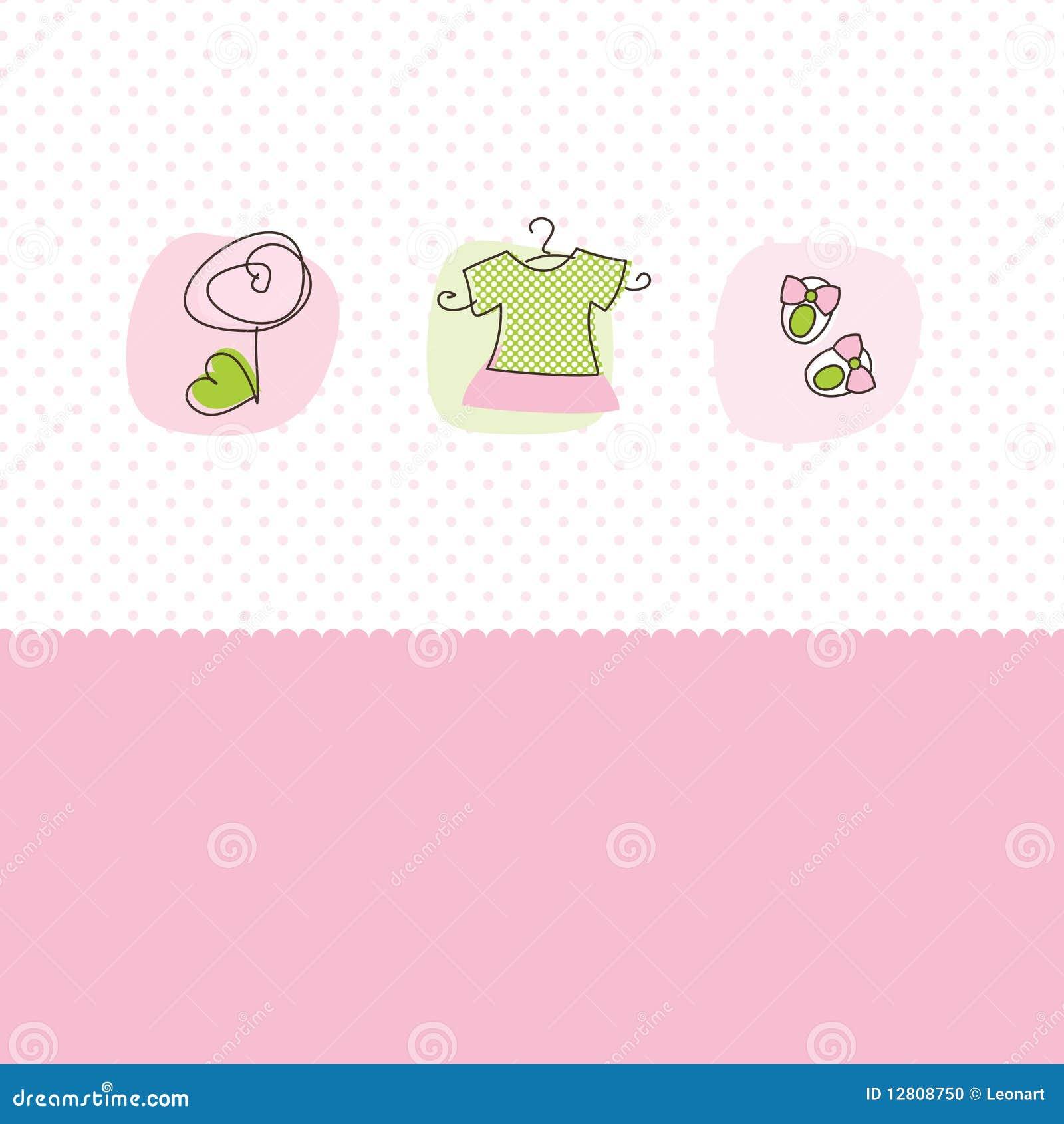 Cartões do anúncio da chegada do bebé