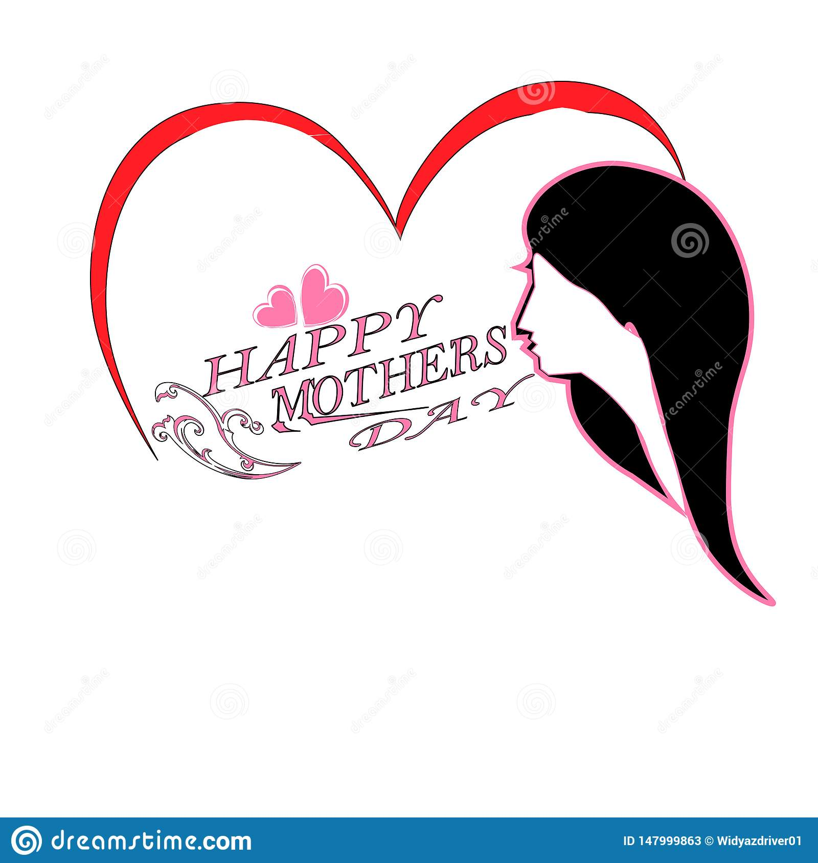 Cartões do dia de mãe do mundo