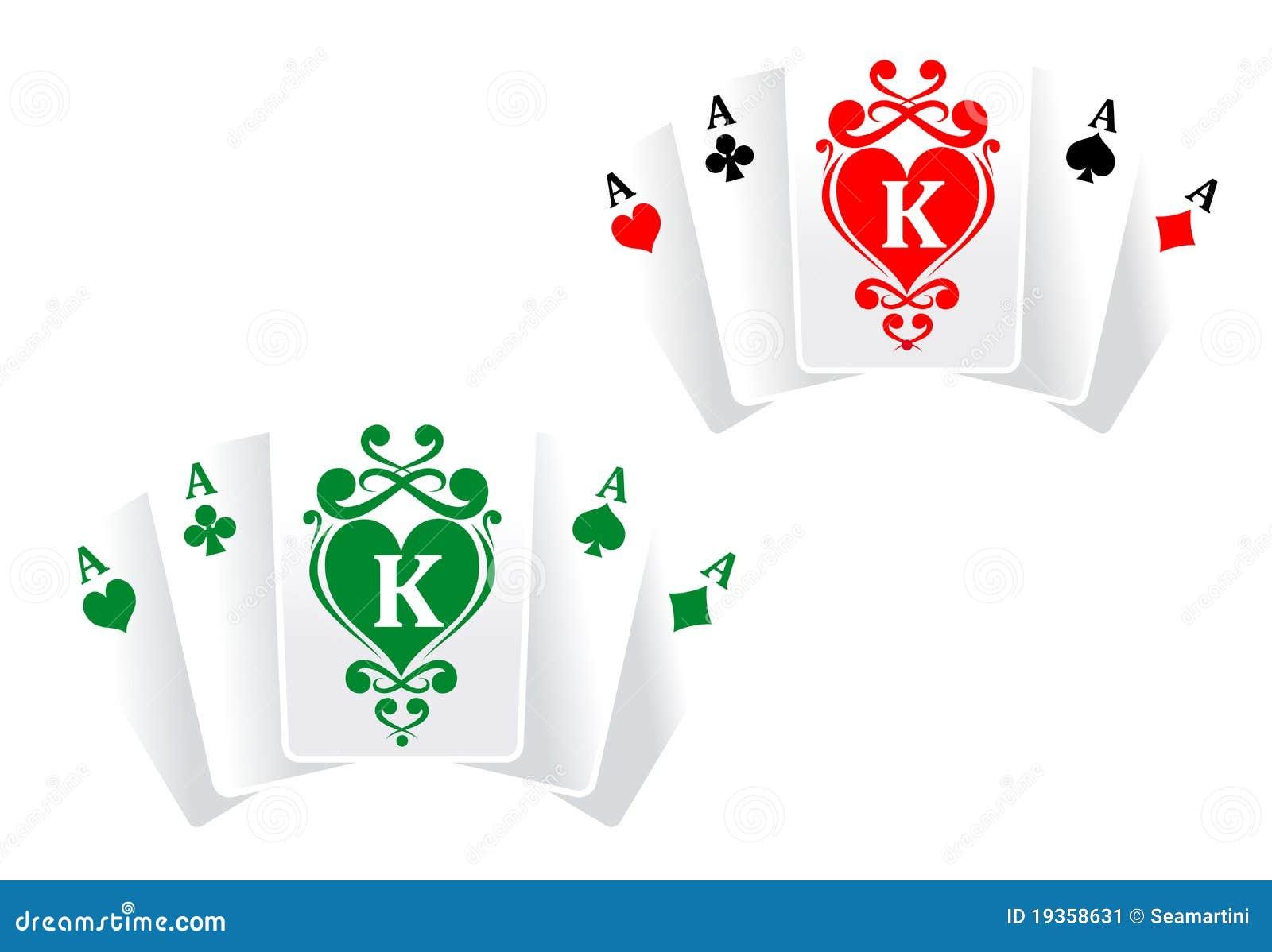 Cartões do póquer