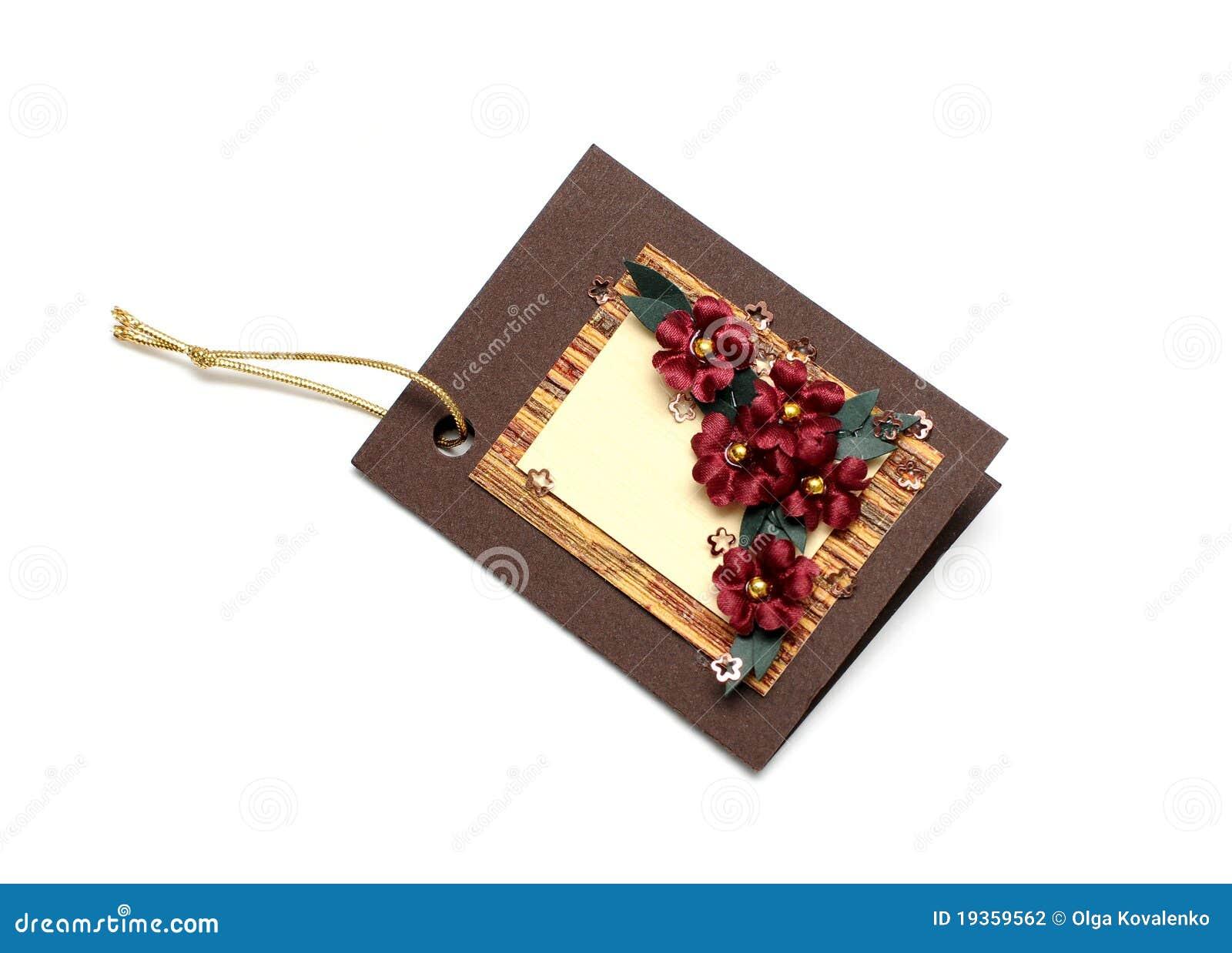 Cartões Handmade