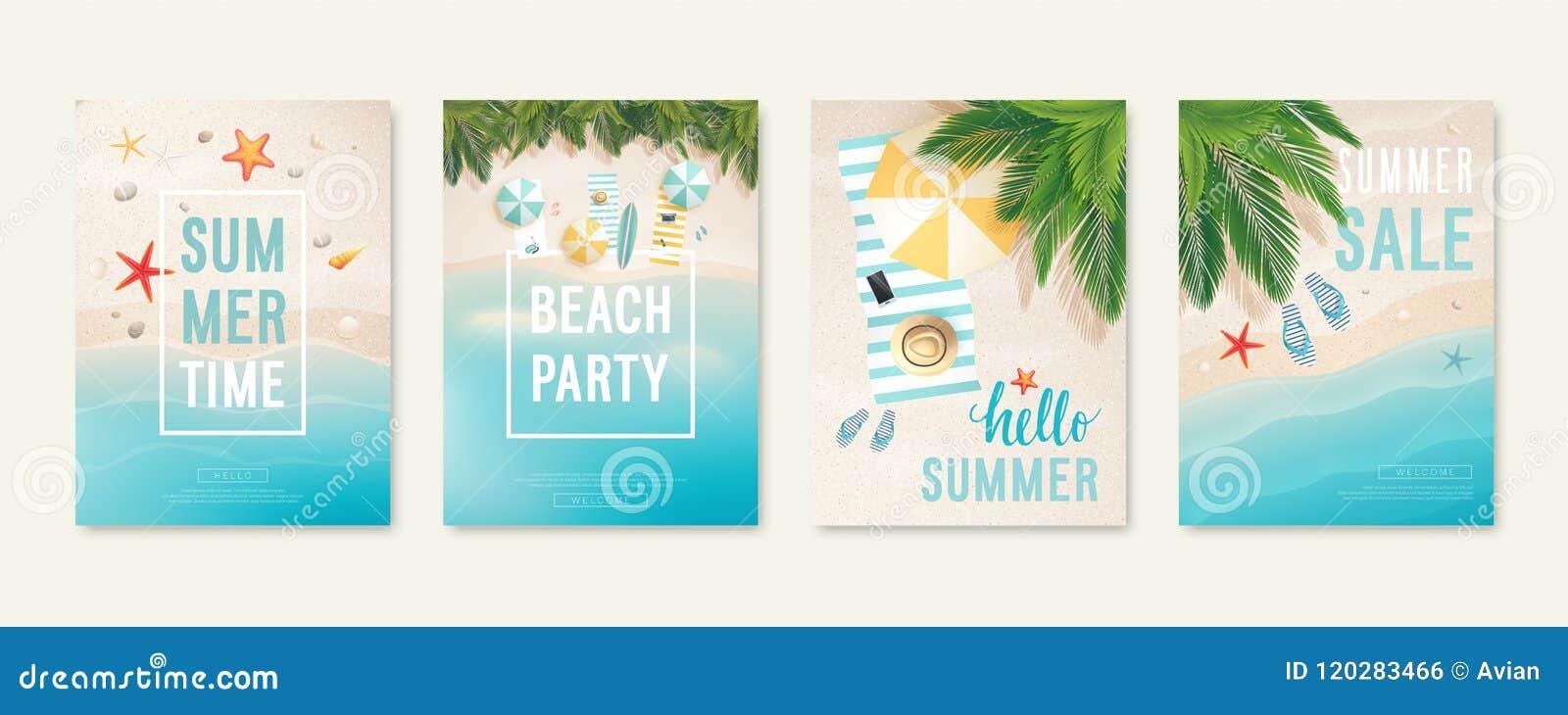 e19361c800 Cartões Tropicais Da Praia Com Areia