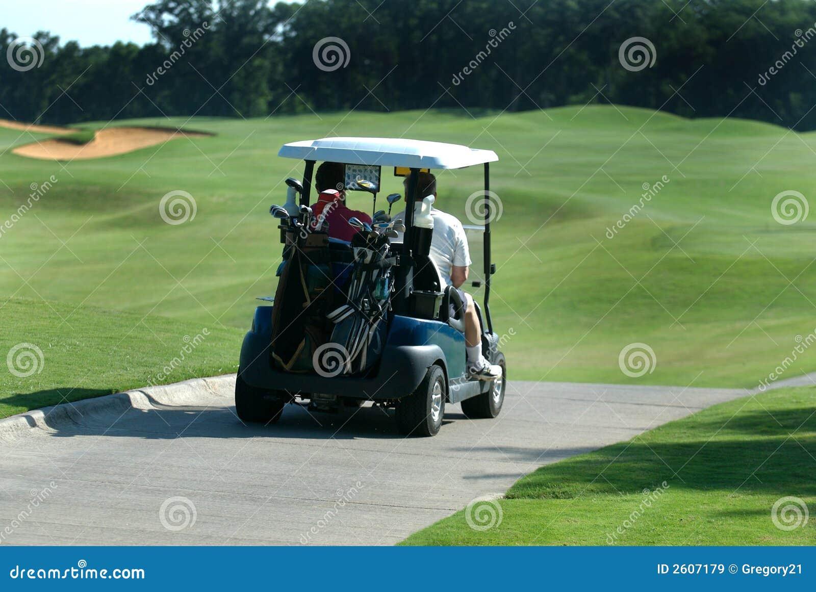 Cart игроки в гольф