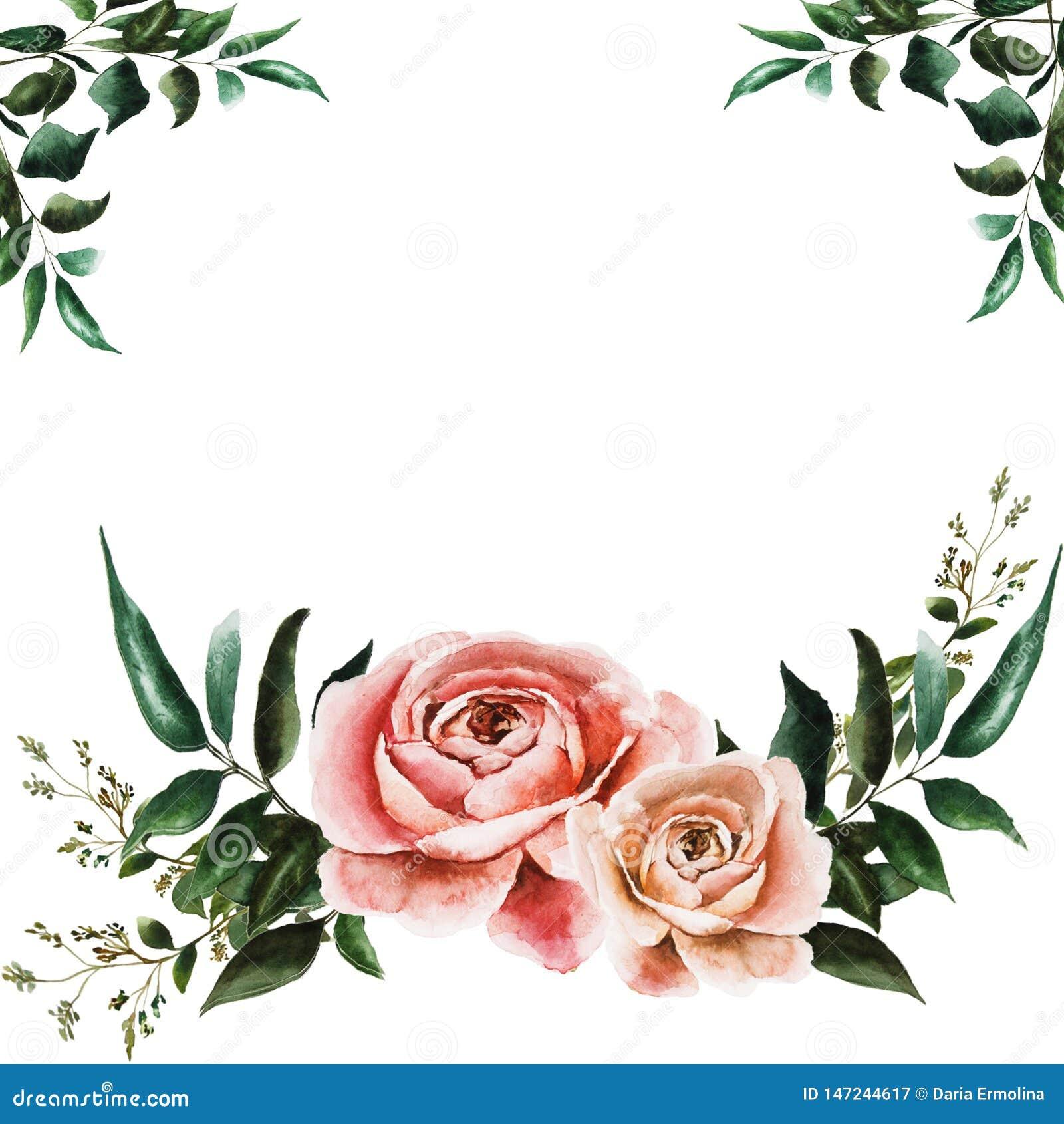 Cart?o com rosas