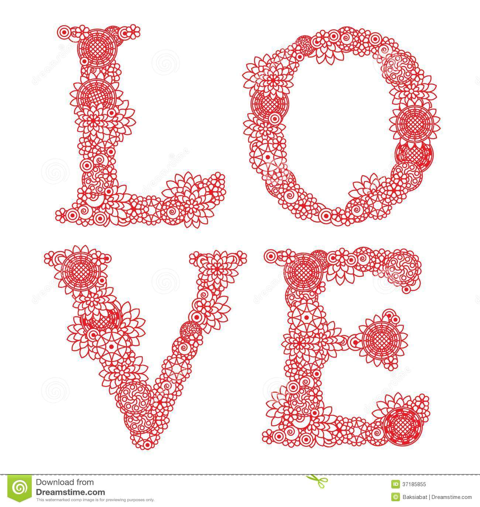 Carta d annata per il San Valentino