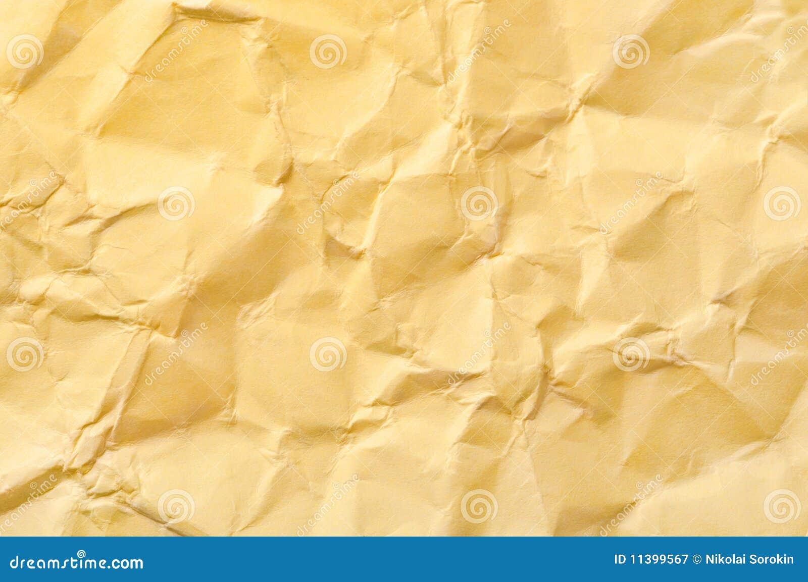 carta da imballaggio sgualcita immagine stock immagine
