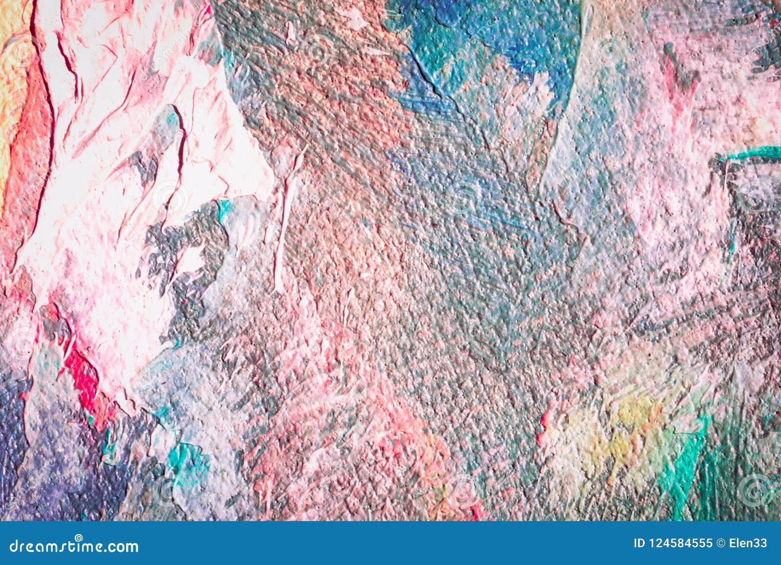 Carta Da Parati O Pittura.Carta Da Parati Astratta Di Struttura Della Pittura A Olio Immagine