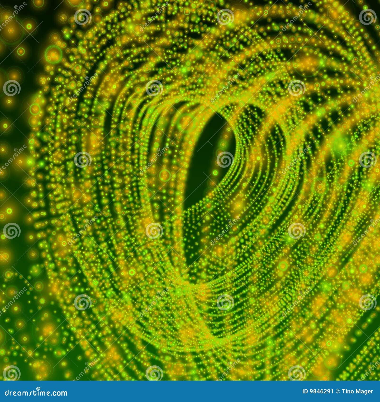 Carta da parati astratta verde della fascia immagine stock for Carta parati verde