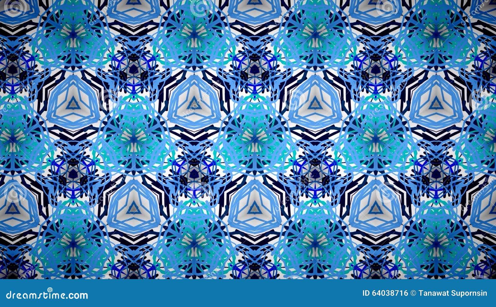 Carta da parati bianca e blu astratta del modello di for Carta parati bianca