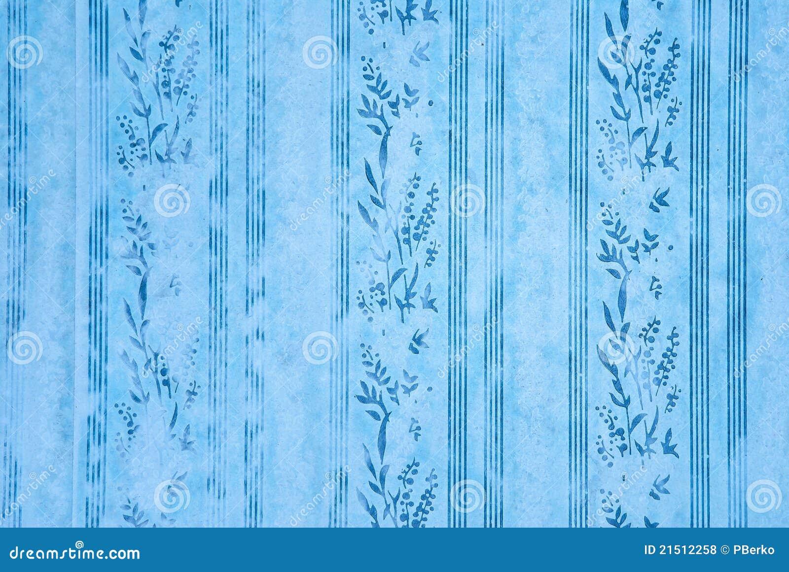 Carta da parati blu fotografia stock immagine di classico for Carta parati blu