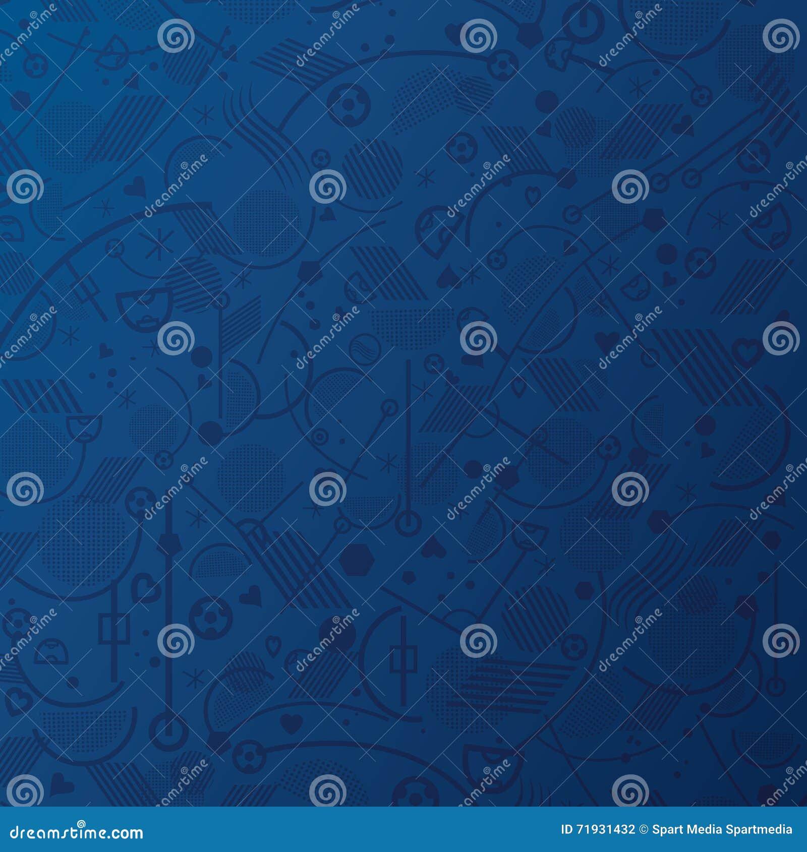 Carta da parati blu illustrazione vettoriale for Carta parati blu