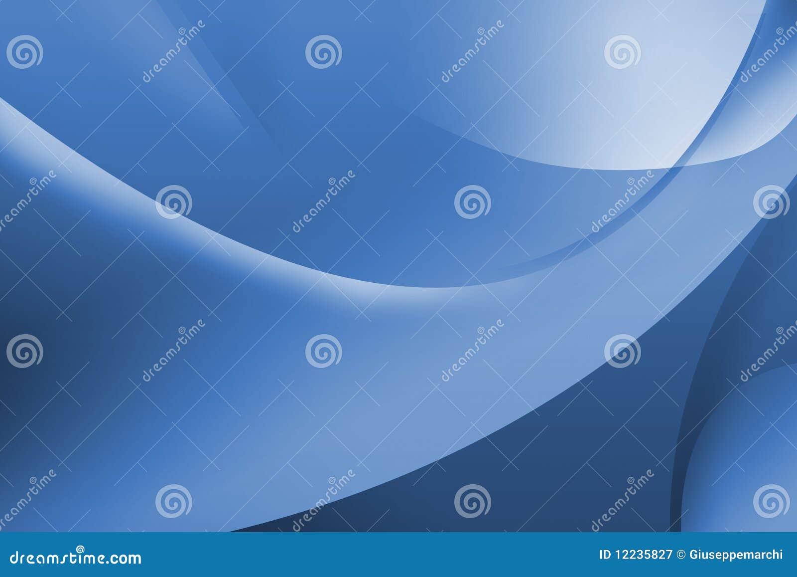 Carta da parati blu astratta illustrazione di stock for Carta parati blu