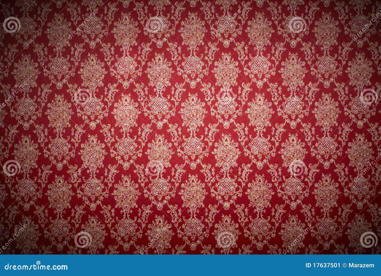 Carta da parati rossa immagine stock immagine di arte for Stock carta da parati