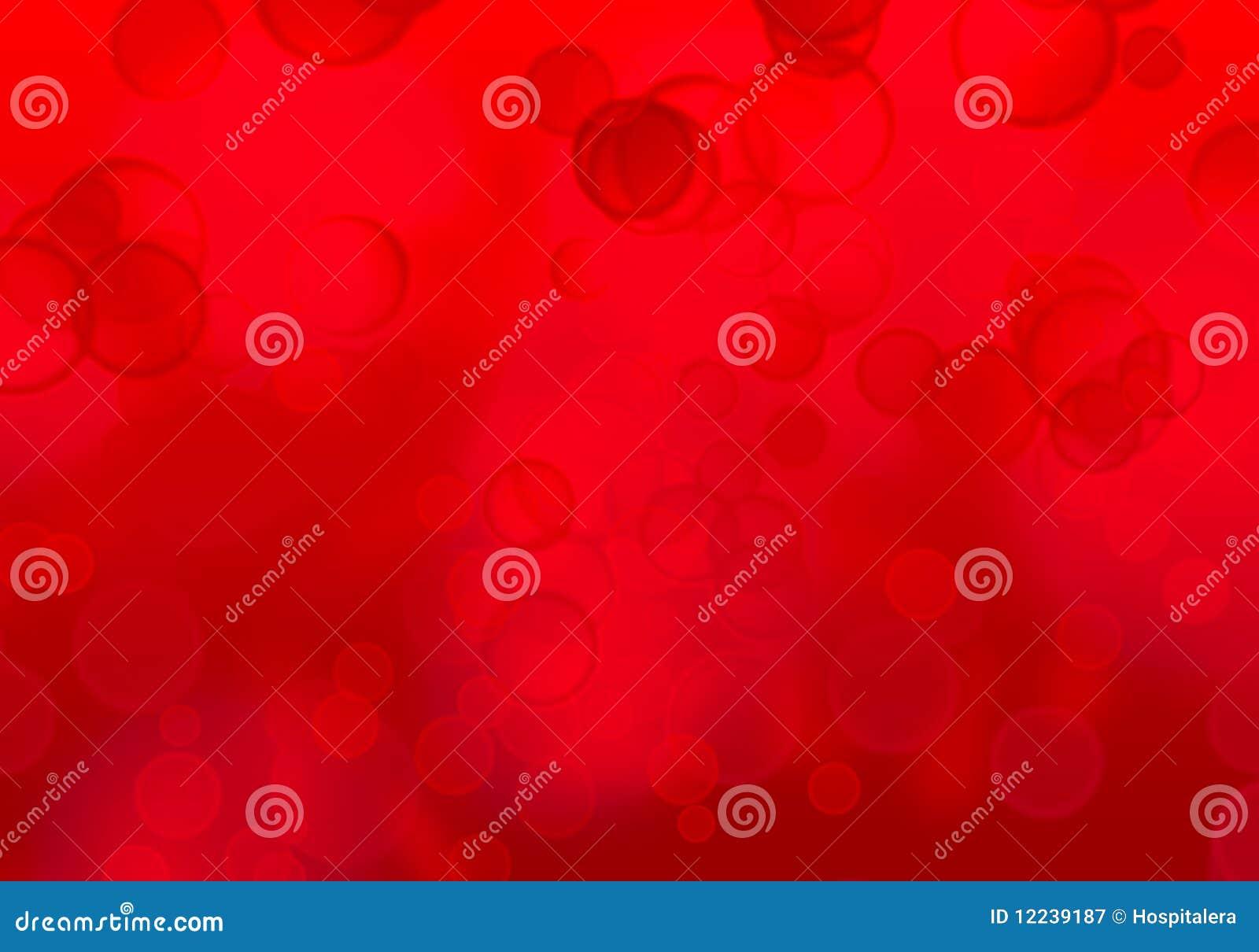 Carta da parati rossa delle bolle illustrazione di stock for Carta da parati damascata rossa