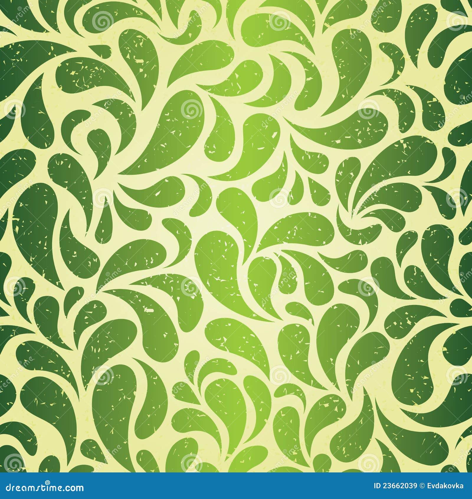 Carta da parati verde dell 39 annata immagini stock libere da for Carta parati verde