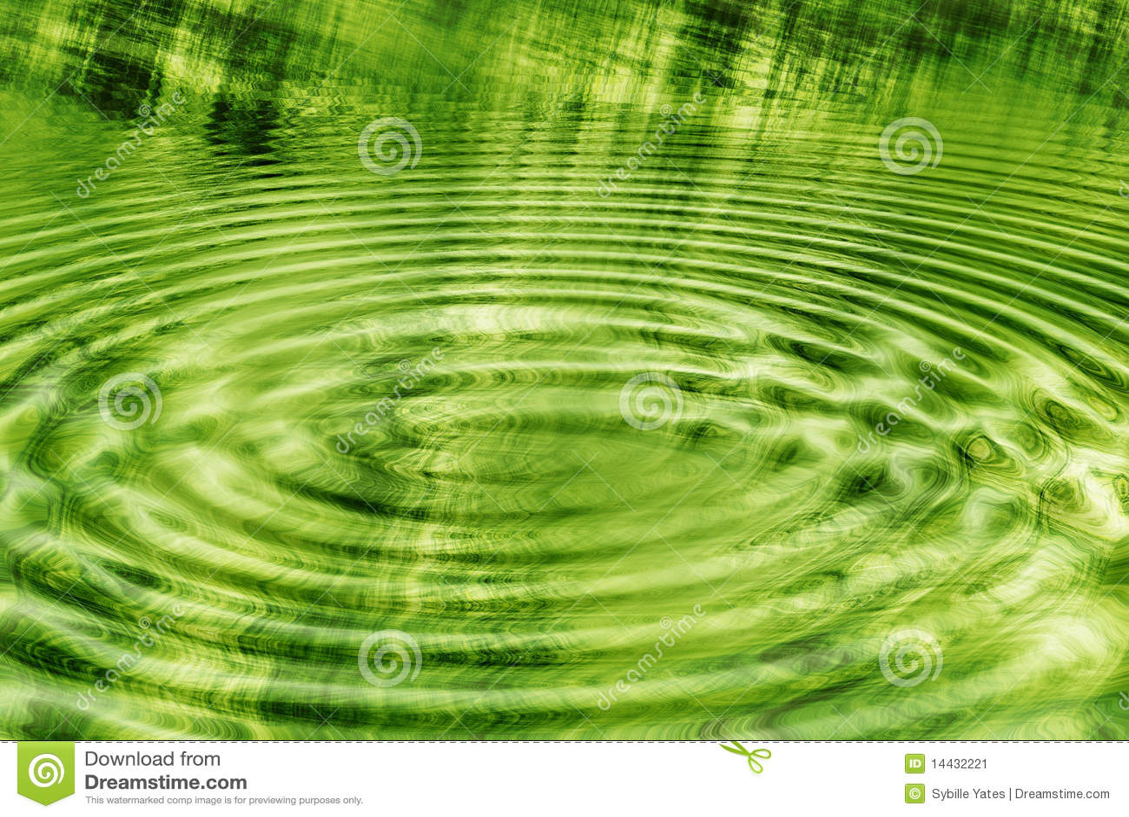 Carta da parati verde increspata del grunge immagine stock for Carta parati verde