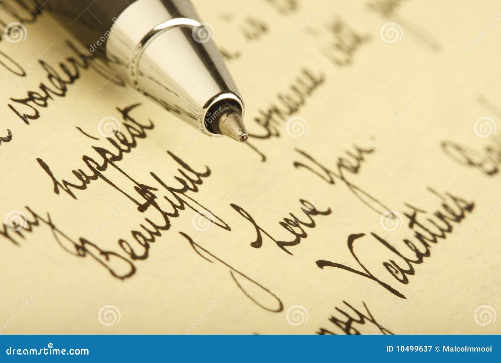Te Amo Escrito En Pluma En La Arena Imagen De Archivo: Carta De Amor Imagen De Archivo. Imagen De Amor, Romance