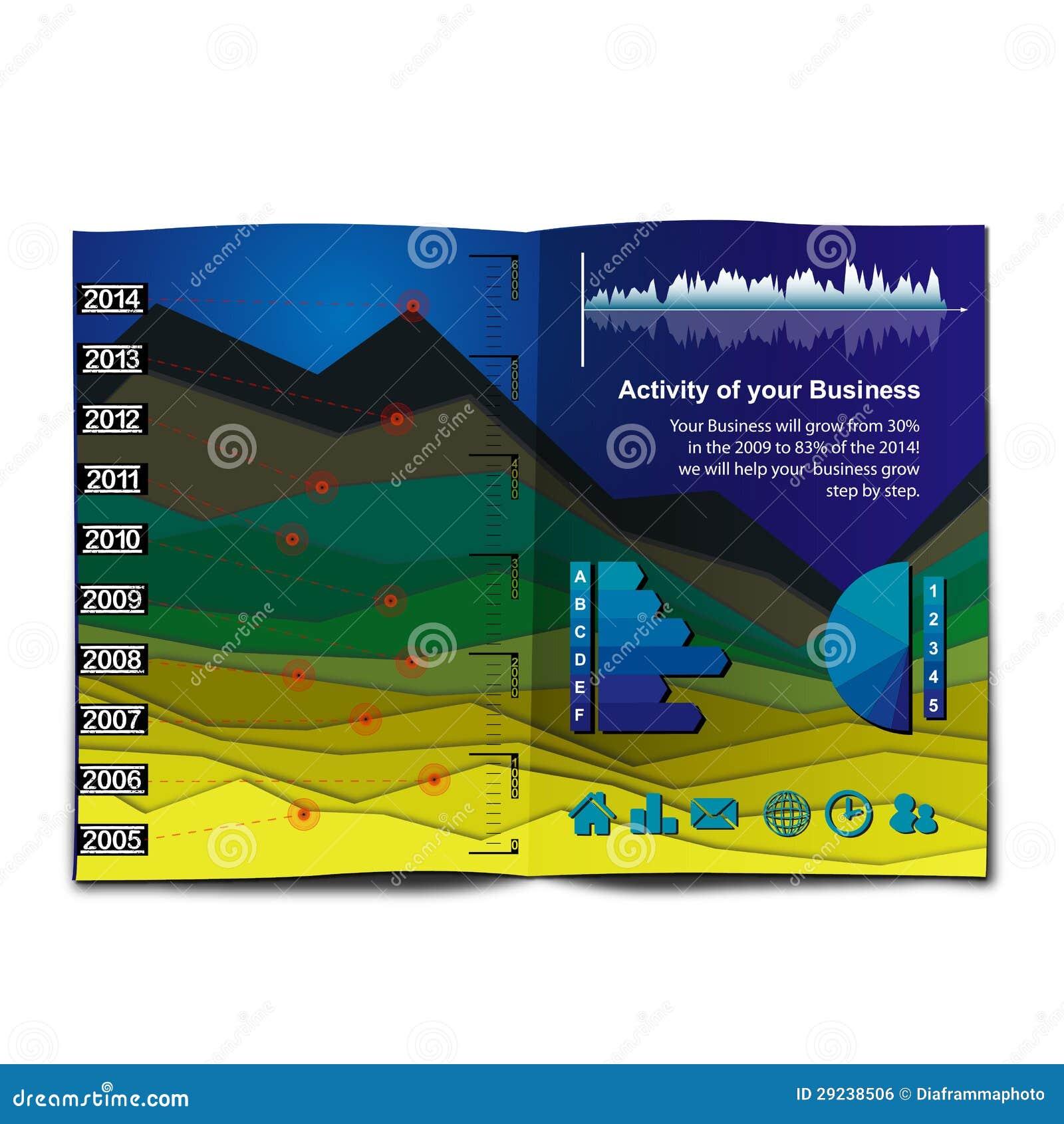 Download A Carta De InfoGraphic Gosta De Uma Paisagem Da Montanha Ilustração do Vetor - Ilustração de dados, resultados: 29238506