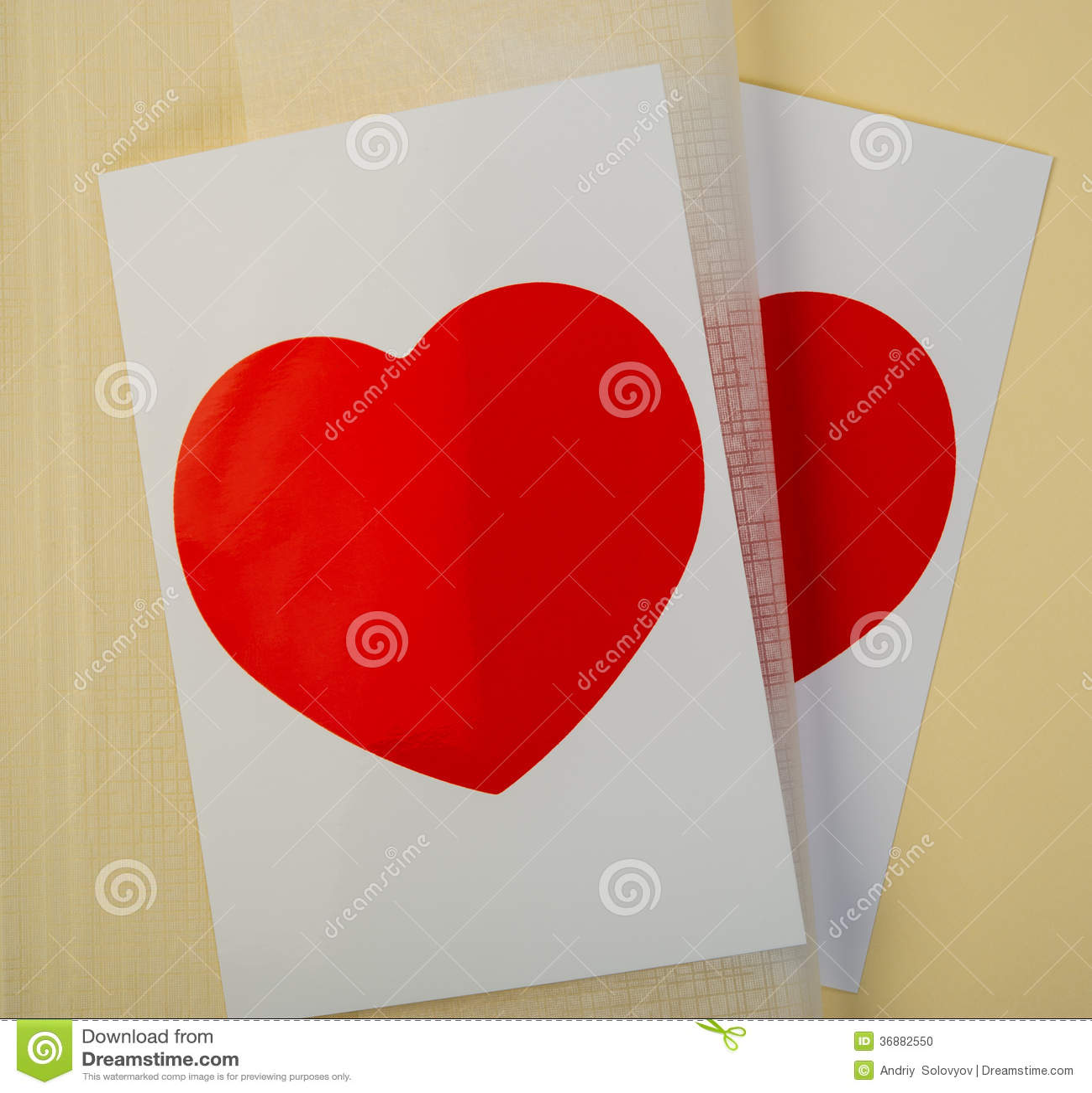 Download Carta Del Biglietto Di S. Valentino Fotografia Stock - Immagine di data, giorno: 36882550
