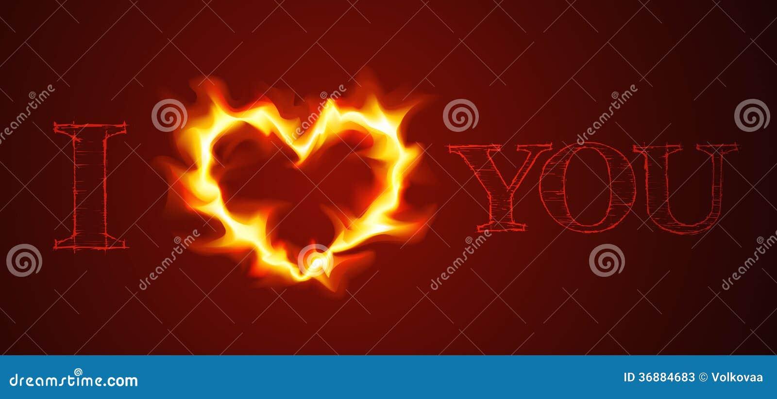 Download Carta di amore di vettore illustrazione vettoriale. Illustrazione di cuore - 36884683