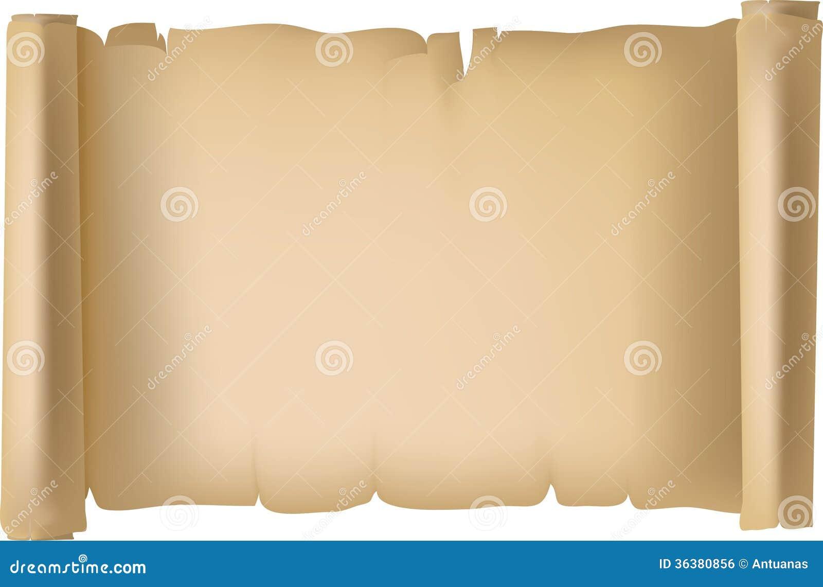 Carta Di Pergament Fotografia Stock Immagine Di Storia 36380856
