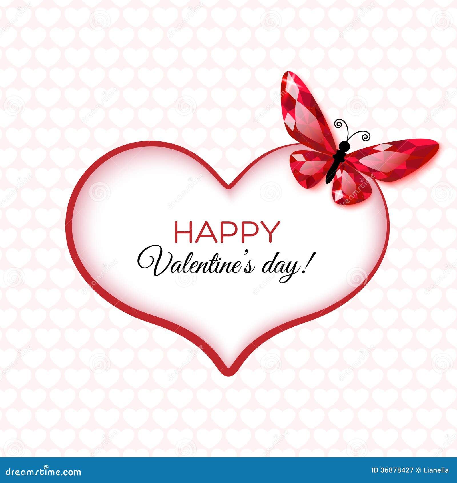 Download Carta Felice Di San Valentino Illustrazione di Stock - Illustrazione di regalo, illustrazione: 36878427
